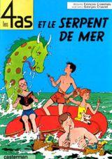 Couverture Les 4 As et le serpent de mer
