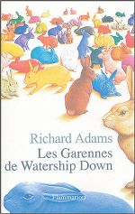 Couverture Les Garennes de Watership Down