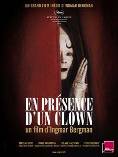 Affiche En présence d'un clown