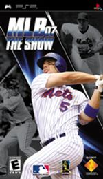 Jaquette MLB 07 : The Show