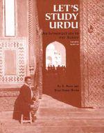 Couverture Let's Study Urdu — An Introductory Course