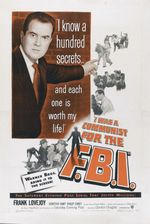 Affiche I was a communist for the FBI