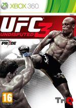 Jaquette UFC Undisputed 3
