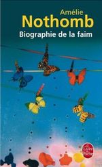 Couverture Biographie de la faim