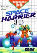 Jaquette Space Harrier 3-D