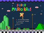 Jaquette Super Mario Bros X