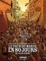 Couverture Le Tour du monde en 80 jours de Jules Verne