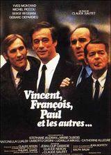 Affiche Vincent, François, Paul et les autres...