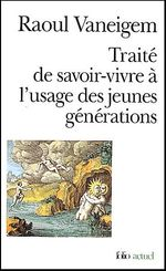 Couverture Traité de savoir vivre à l'usage des jeunes générations
