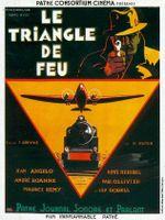 Affiche Le triangle de feu