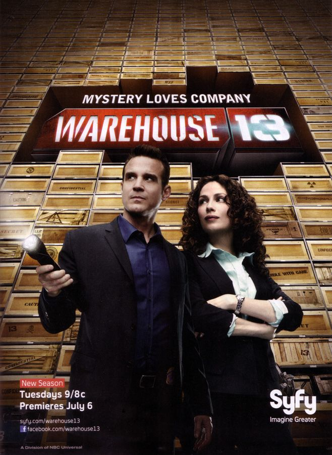 Affiches posters et images de warehouse 13 2009 for Serie warehouse