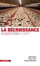 Couverture La décroissance : Dix questions pour comprendre et en débattre