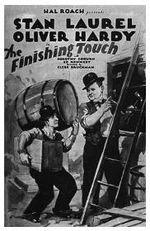 Affiche Laurel et Hardy constructeurs