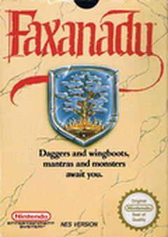 Jaquette Faxanadu