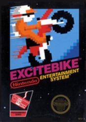 Jaquette Excitebike