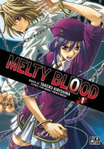 Couverture Melty Blood