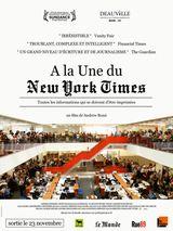Affiche A la une du New York Times