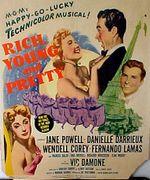 Affiche Riche, jeune et jolie