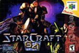 Jaquette StarCraft 64