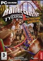 Jaquette RollerCoaster Tycoon 3 : Distractions Sauvages