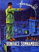 Affiche Boniface somnambule