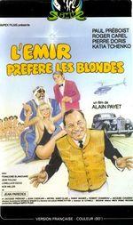 Affiche L'Emir préfère les blondes