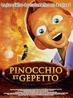 Affiche Pinocchio et Gepetto