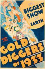 Affiche Chercheuses d'or de 1933