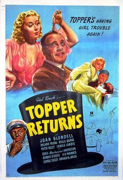 Affiche Le Retour de Topper