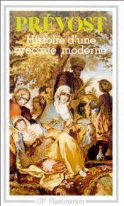 Couverture Histoire d'une Grecque moderne