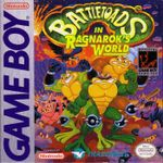 Jaquette Battletoads in Ragnarok's World