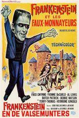 Affiche Frankenstein et les faux-monnayeurs