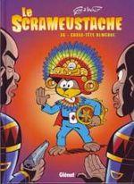 Couverture Casse-tête olmèque - Le Scrameustache, tome 36
