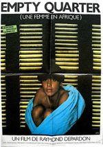 Affiche Empty Quarter, une femme en Afrique
