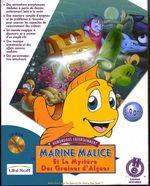 Jaquette Marine Malice et le mystère des graines d'algues