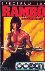 Jaquette Rambo: First Blood Part II (Secret Command)