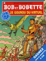 Couverture Le gourou du virtuel - Bob et Bobette, tome 308