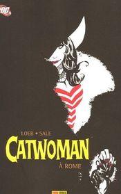 Couverture Catwoman à Rome