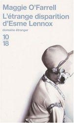 Couverture L'Étrange disparition d'Esme Lennox