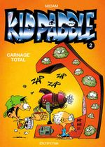 Couverture Carnage total - Kid Paddle, tome 2