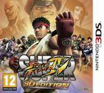 Jaquette Super Street Fighter IV 3D Edition