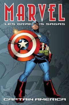 Couverture Captain America - Marvel : Les Grandes Sagas, tome 7