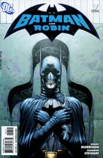Couverture Batman et Robin : Blackest Night