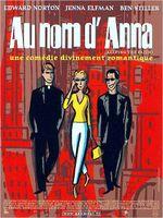 Affiche Au nom d'Anna