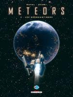 Couverture Les Néoquantiques - Meteors, tome 2