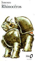 Couverture Rhinocéros