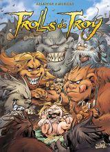 Couverture L'Histoire de Waha - Trolls de Troy, tome 14