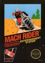 Jaquette Mach Rider