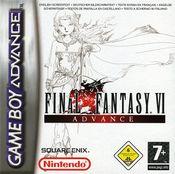 Jaquette Final Fantasy VI Advance