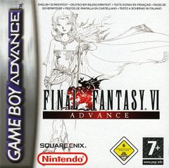 Jaquette Final Fantasy VI Advance